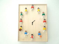 Playskool people clock