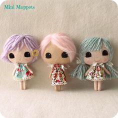 Mini Moppets pdf Pattern by Gingermelon on Etsy, $8.50