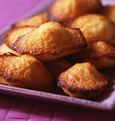 Photo de la recette : Madeleines au citron, d'après Sophie Dudemaine