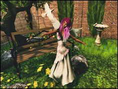 Mundo Glamour: Little garden Day Lilies, Disney Characters, Fictional Characters, Aurora Sleeping Beauty, Glamour, Poses, Disney Princess, Html, Garden
