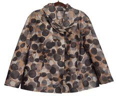 PORTS 1961 Womens Blazer Jacket Wool Silk Size12 #Ports1961 #BasicJacket