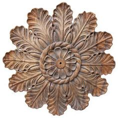 19th Century Architectural Ceiling Carving
