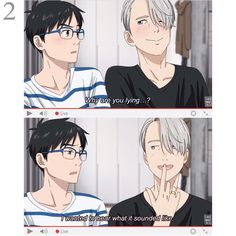 Yuri On Ice Video chat 2/5