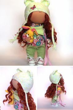 Spring doll Fabric doll Summer doll handmade by AnnKirillartPlace