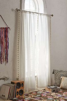Magical Thinking Pompom Curtain - Urban Outfitters so getting these after the holidays!!!!