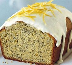Lemon & Poppy Seed Cake -- been looking for an easy poppy seed recipe; reminds me of my childhood