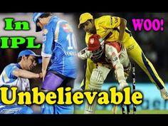 VIVO IPL 2017 ○ IPL Unbelievable Moments In Cricket History - Sports Gal.
