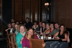 The G2B12 crew hanging out at The Capital Hotel in Little Rock.