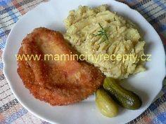 Vylepšené řízky Czech Food, Czech Recipes, Snack Recipes, Snacks, Ds, Snack Mix Recipes, Appetizer Recipes, Appetizers, Treats