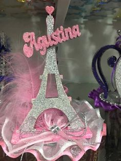 Paris Themed Birthday Party, Barbie Birthday Party, Paris Party, Birthday Party Decorations, Quinceanera Centerpieces, Quinceanera Invitations, Quinceanera Party, Bridal Shower Cakes, Bridal Showers