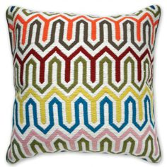 How I wish I could have this green monster graffiti by Kotzian pillow from Jonathan Adler!!!!!!!!!!