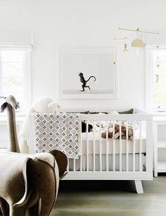 Looking to decorate your little one's nursery? Check out these adorable baby nursery inspiration and ideas that you can try at home. Baby Bedroom, Baby Room Decor, Nursery Room, Girl Nursery, Kids Bedroom, Nursery Decor, Nursery Ideas, Nursery Themes, Bedroom Ideas