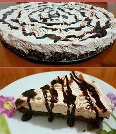 ΜΑΓΕΙΡΙΚΗ ΚΑΙ ΣΥΝΤΑΓΕΣ 2: Γλυκό με γεμιστά μπισκότα και κρέμα μερεντας !!! No Bake Cake, Tiramisu, Ethnic Recipes, Desserts, Food, Baking Cakes, Tailgate Desserts, Deserts, Essen
