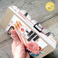 I'm loving how the tabs and lots of goodies from the Paper and Ink kits hang off the edge of my Simple Dori: A Well Crafted Life. This Simple Dori is about my creative career. Journal Paper, Book Journal, Bullet Journal, Travel Scrapbook, Scrapbook Albums, Scrapbooking, Travel Journals, Travel Books, Creative Arts And Crafts