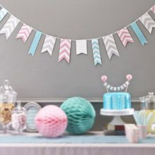 Chevron Party Details great for wedding, parties and baby showers. Create the look at Luck & Luck