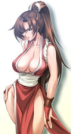 Mai Shiranui.....boobs