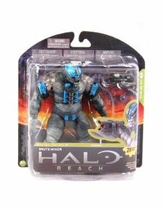 McFarlane Toys Halo Reach Series 4 Brute Minor Action Figure by McFarlane Toys. $12.99. Our first Halo: Reach Brute action figure is the most commonly encountered version, the Brute Minor. Figure features multiple points of articulation. Figure includes a Brute Spike Rifle and Plasma Grenade. From the Manufacturer                McFarlane Toys is proud to present our forth line of action figures from the blockbuster video game, Halo Reach. Halo Reach Series 4 is packed with figur...