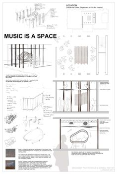 Music in Architecture - Architecture in Music Competitionby Zbigniew Piotrowicz & Soneil Inayat Music is a space. The architectural concept creates an intere...