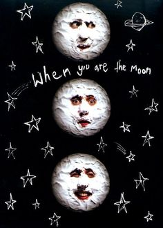 The Mighty Boosh - the moon character. I think it requires a certain sense of humour to enjoy this hilarious eccentric character of Noel Fielding!