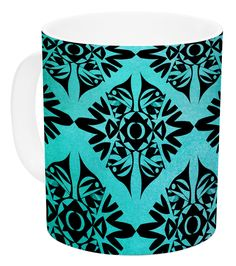 Eye Symmetry by Pom Graphic Design 11 oz. Ceramic Coffee Mug