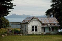 Old Farmhouse, Clifden -  Southland, New Zealand ~