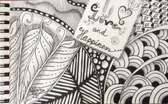 Just a little giftcard #zentangle