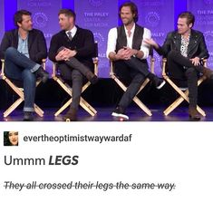 The too precious cast of Supernatural