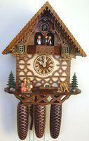 8TMT 334/9 Stud Work House 8-Day Cuckoo Clock by Schneider