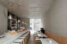 Courtyard canteen, Berlin, Germany - by David Chipperfield Architects