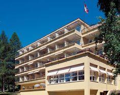 Hotel Bella Lui, Garden, Crans Montana, Wallis, Valais, Suisse, Schweiz, Switzerland. www.vch.ch/bella-lui/