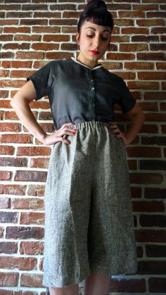 Temecula over short trousers di MisStufiSaraForlini su Etsy