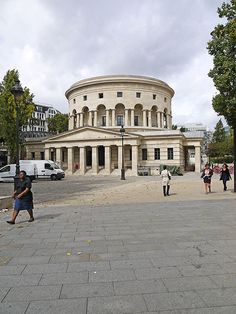 Rotonde de la Villette, Canal St-Martin, Paris - Claude Ledoux