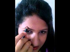 Long stay office wear light makeup tutorial - YouTube