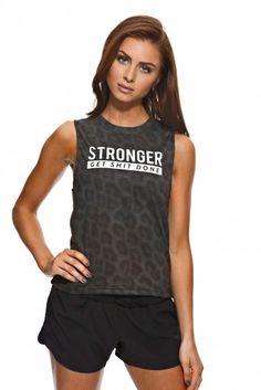 Details about Reebok Hero Strappy Athletic Bra Ladies Thin Straps Mesh Pattern Stripe