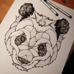 Tattoo Panda
