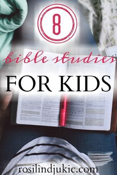 Bible Study:Are you looking for Bible studies for your kids to help them build God's Word in their hearts? Here are 8 Bible studies for kids that I've found are amazing and effective! Family Bible Study, Bible Study Tips, Bible Study For Kids, Bible Lessons, Lessons For Kids, Kids Bible Studies, School Lessons, Raising Godly Children, Raising Kids