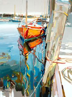 Josef Kote Original Acrylics on Canvas