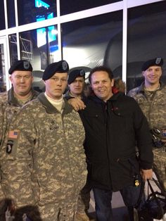 Thank you to the US Rangers ...Kevin Chapman.