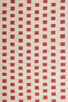 Blanco Red Area Rug