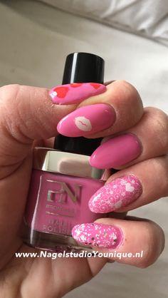 #pinkattitude #pronails #valentijn