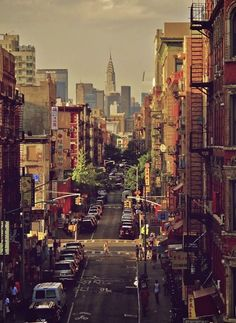 New Yorck City, Upper West Side, Empire State.