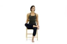 8 Best Yoga Poses for Sciatica: Pigeon in a Chair