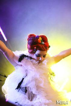 Gabby performing wearing Inbar Spector