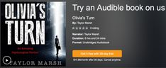 Audiobook Offer: Olivia's Turn Free on Audible   Hurry. This offer won't last.