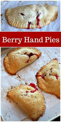 Homemade Berry Hand Pies recipe from RecipeGirl.com #berry #handpies #pie #summer #dessert #recipe #RecipeGirl Summer Dessert Recipes, Fun Easy Recipes, Pie Recipes, Popular Recipes, Asian Desserts, Fun Desserts, Delicious Desserts, Fried Pies, Raspberry Recipes