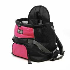 Outward Hound Pet-A-Roo Front Carrier - Pink