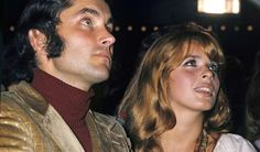 Senta Berger mit ihrem Ehemann Michael Verhoeven in den 70er Jahren.