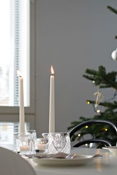 Hannas Home / Christmas decorations / table setting Christmas Table Decorations, Xmas Tree, Home Accessories, Table Settings, Candles, Lifestyle, Christmas Tree, Home Decor Accessories, Xmas Trees