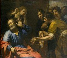 Giovanni Andrea de Ferrari - 'Joseph's Coat Brought to Jacob', oil on canvas, c. 1640, El Paso Museum of Art.jpg