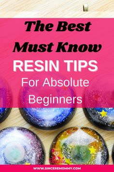 Here are the best must know resin tips for absolute beginners. Start working with resin like a professional sooner by reading this list of must know tips! Don't learn the hard way when you have the best resin tips for beginners right at your fingertips. Check out my full blog post to learn more. #resin #resinforbeginners Diy Resin Table, Diy Resin Art, Diy Resin Crafts, Rock Crafts, Diy Arts And Crafts, Hobbies And Crafts, Crafts To Make, Diy Resin Projects, Craft Projects For Kids